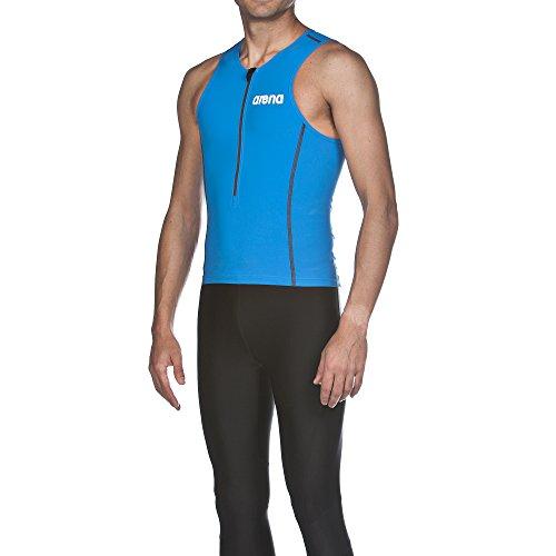 arena Herren Wettkampf Triathlon Oberteil Powerskin ST (Perfekte Kompression, Weniger Wasserwiderstand), Brilliant Blue (88), M