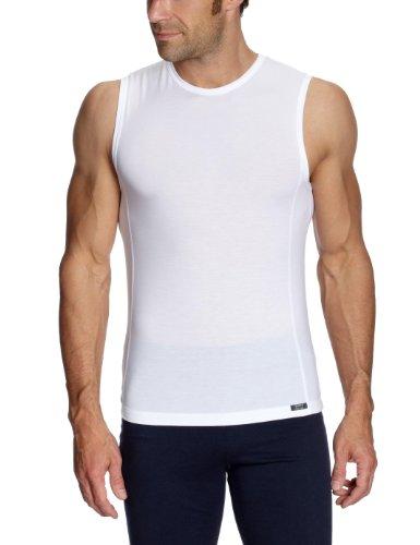 Huber Herren Unterhemd Tyson Tank Top Athleticshirt Weiß