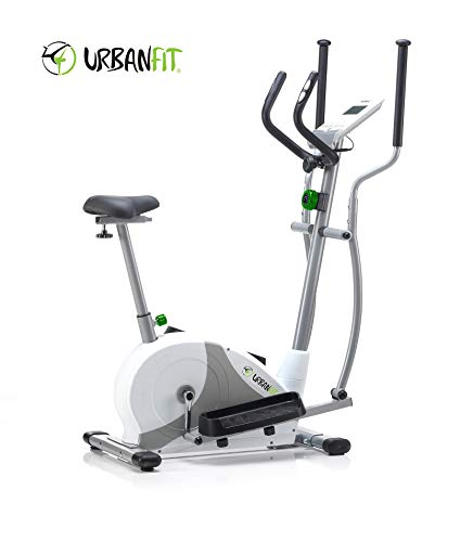 Urbanfit Combo 400 ELIBIKE Cyclette ed ellittica - Due Attrezzi con Unica Spesa -Urban Fit