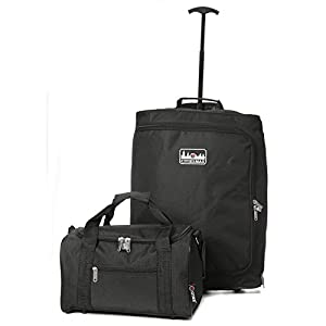 55x40x20cm Ryanair Maximum Cabin Hand Luggage Approved Trolley Bag, 42L