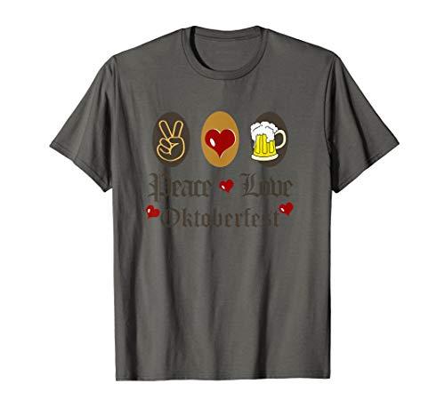 Friedensliebe Oktoberfest T-Shirt