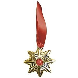 WIDMANN vd-wdm8410r medallón Drácula, dorado, talla única
