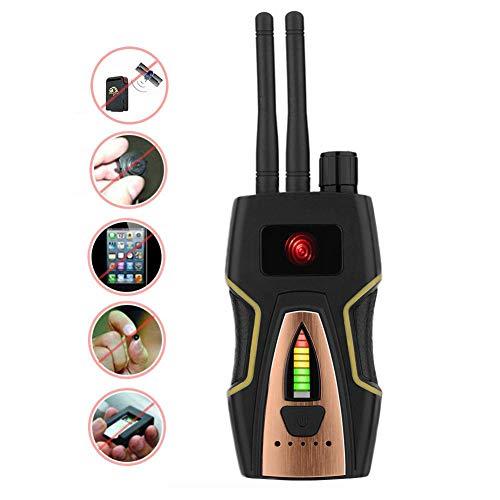 YTBLF Detector de RF antispyware, Detector de señal inalámbrica, Detector de Audio...
