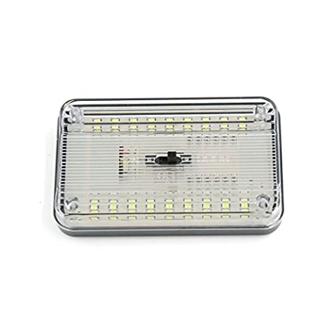 sourcingmap® DC 12V blanc 36-LED dôme lampe toit Intérieur l'ampoule plafond pour camion voiture