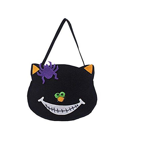 Set Alien Kostüm Verkauf Für - Alien Storehouse Set von 2 Halloween Kinder Süßigkeiten Tasche Schwarz Katze Süßigkeiten Tasche