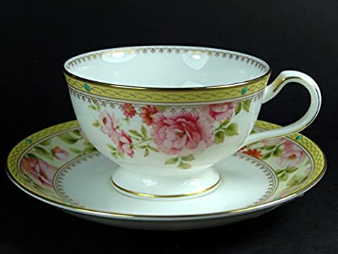 Cup and Saucer Set - Noritake Hertford Single with Gift