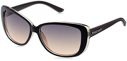 Fastrack Oversized Women's Sunglasses (P237BU1F|57|Burgundy)