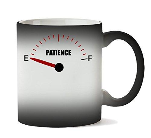C+P Patience Empty Funny Gauge Graphic Tasse Hitze Farbwechsel