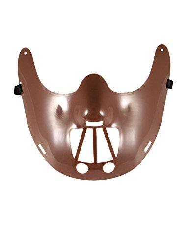 wachsene Halloween Party Hannibal Gesichtsmaske Unisex Kost�mfest Zubeh�r One Size ()