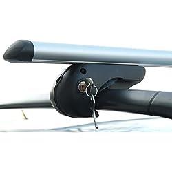 Aluminio–Barra de seguridad para bicicletas (VDP Rio 135Volkswagen Touran Combi 03–14–Bacas 90kg abschließbar