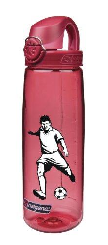 Preisvergleich Produktbild Nalgene 'Everyday OTF' - 0,7 L, rot, Fussballer zweifarbig