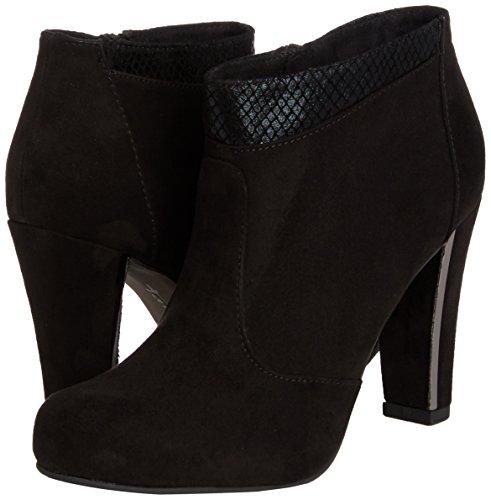 Tamaris 25052, Bottes femme Noir (blk/blk Struct 052)