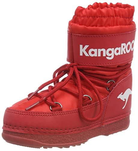 KangaROOS Unisex-Kinder K-Moon Schlupfstiefel, Rot (Fiery Red 6090), 34/35 ()