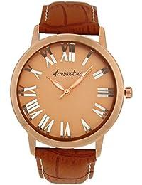 Armbandsur Analog Rose gold & transparent dial and back Watch-ABS0010MTRGB