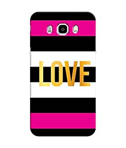 Sketchfab Love In A stripes Shaped Latest Design High Quality Printed Soft Silicone Back Case Cover For Samsung Galaxy On8