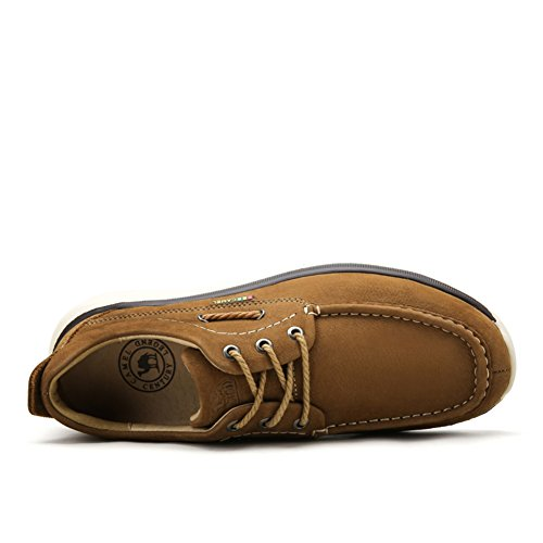Scarpe Casual Maschile Dress Alpinismo Autunno All'aperto Fondo Morbido Scarpe Sport Slip On Brown B