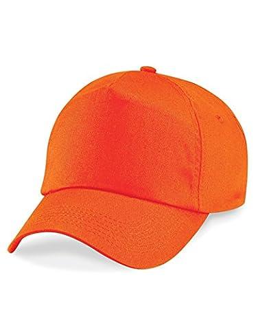 Beechfield Casquette 5 panneaux Orange orange Taille