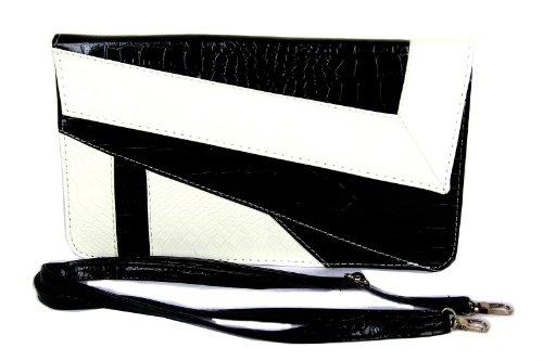 freshgadgetz-set-de-1-bolso-de-mano-en-blanco-y-negro-para-mujeres-y-senoritas