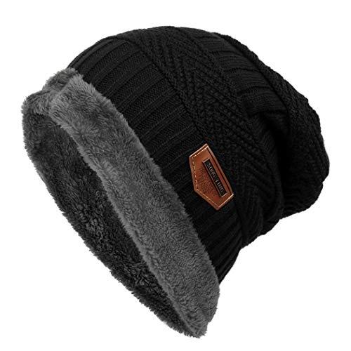 Gorro de Invierno Unisex Sombrero de Punto de Lana Caliente Sombreros de  Esquí al Aire Libre 0c0025cadb4