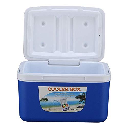 advancethy Kühlbox 8L Outdoor Inkubator Gefrierschrank Tragbare Frischhaltedose Auto Kühlbox Getränkekühler