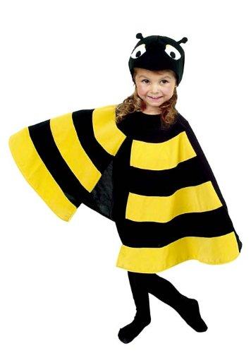 Cesar D403-003 - Cape Mini-Biene, Größe: 116 (Biene Kostüm Kind Größe)