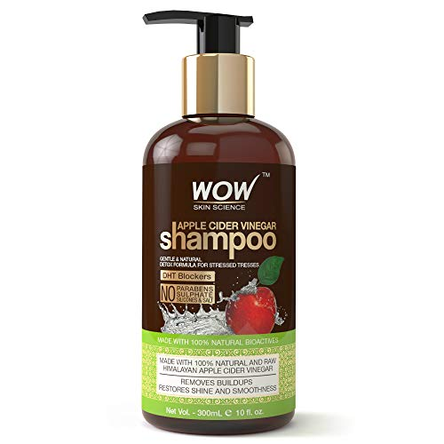 WOW Apple Cider Vinegar Shampoo-No Sulphate & Parabens 300mL