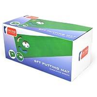 On Par 6ft - Alfombra de práctica para golf, color verde, talla UK: 1.82m