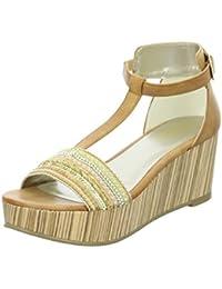 BULLBOXER 144002F2S - Sandalias de vestir de Material Sintético para mujer Talla única talla única
