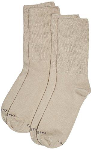 Camano Unisex-Erwachsene 5913 Socken, Beige (Sand 0018), 43/46 (erPack 2 (Sand-socken Billig)