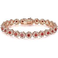 92e415203e60 GMYANYSZ Pulseras de Color Rosa de Moda de Oro Rojo de la Moda para la  joyería