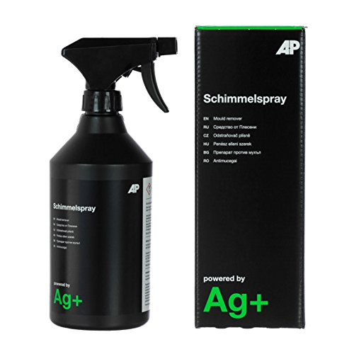 Ag+ Schimmelspray/Schimmelentferner, 600ml, chlorfrei, mit Aktivsauerstoff-Sofortwirkung und Ag+-Langzeitwirkung