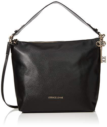 Versace Jeans Couture Damen Bag Schultertasche, Schwarz (Nero), 13x30x31 centimeters - Versace Neue Handtasche