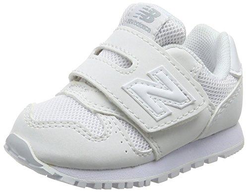 New Balance KV373V1, Zapatillas para Niños, Blanco (White White AWI), 23 EU