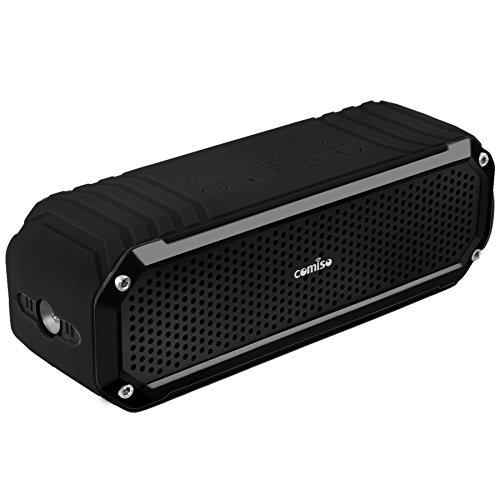 Altavoz Bluetooth Estéreo 10W Premium Dual-Drivers, con Radiador Pasivo, COMISO Altavoz Portatíl...