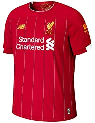 11eed35ed New Balance Men s Liverpool Fc 2019 20 Home Ss Jersey S s Top
