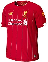 New Balance Men's Official Liverpool FC 2019/20 Home Ss Jersey S/s Top