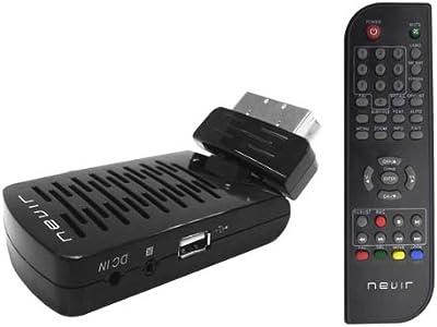 Nevir NVR-2565 DSUG - Sintonizador TDT, USB 2.0, control parental, color negro
