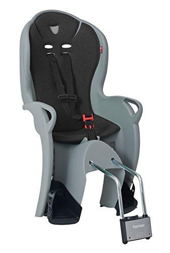 HAMAX Kindersitz Kiss Befestigung Rahmenrohr Farbe grau/schwarz