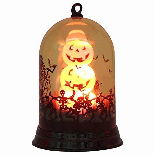 Halloween Kürbis Licht Hexenlicht Halloween Kreativ Dekoration Licht mini Nachtlicht, Zuhause Desktop Dekoration lamp, Halloween Geschenk für Kind