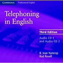 Telephoning in English Audio CD (Cambridge Professional English)