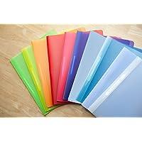 Sortiment Schnellhefter, 10 Stück in 10 verschiedenen Farben