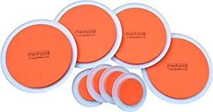 GreatIdeas™ The SUPER FURNITURE SLIDERS (Genuine Original Orange Discs by Medipaq) - Moving Heavy Furniture Has Never Been Easier! 8 PIECE VALUE PACK.