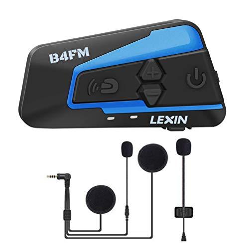 LEXIN B4FM Intercomunicador Casco Moto