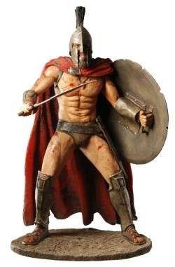 Frank Millers 300 Koenig Leonidas 33cm Statue