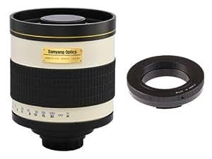 Samyang 800mm Mirror F8 + bague T2 Nikon