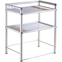 Storage Rack PHTW HTZ Horno De Mesa De Aluminio del Espacio De Los Estantes De La