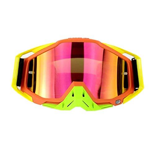 SCJS Brille Bunte Brille Outdoor Goggle Goggle Outdoor Gear Bergsteiger Ausrüstung staubdicht und wasserdicht PC Explosion Brille