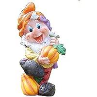 KT Nain de Jardin Grande Taille 21 cm avec Bouée de ...