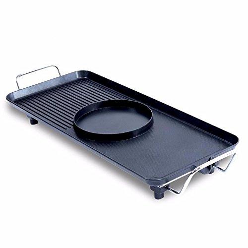 PEIWENIN-Cuisinière à gaz électroménager non fumeur et électroménager à usage professionnel poêle antiadhésive four électrique four multifonctionnel barbecue grille intérieure barbecue à double usage