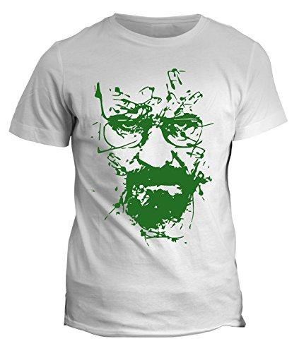 Fashwork tshirt breaking bad - heisenberg - walter white - serie tv - telefilm - in cotone